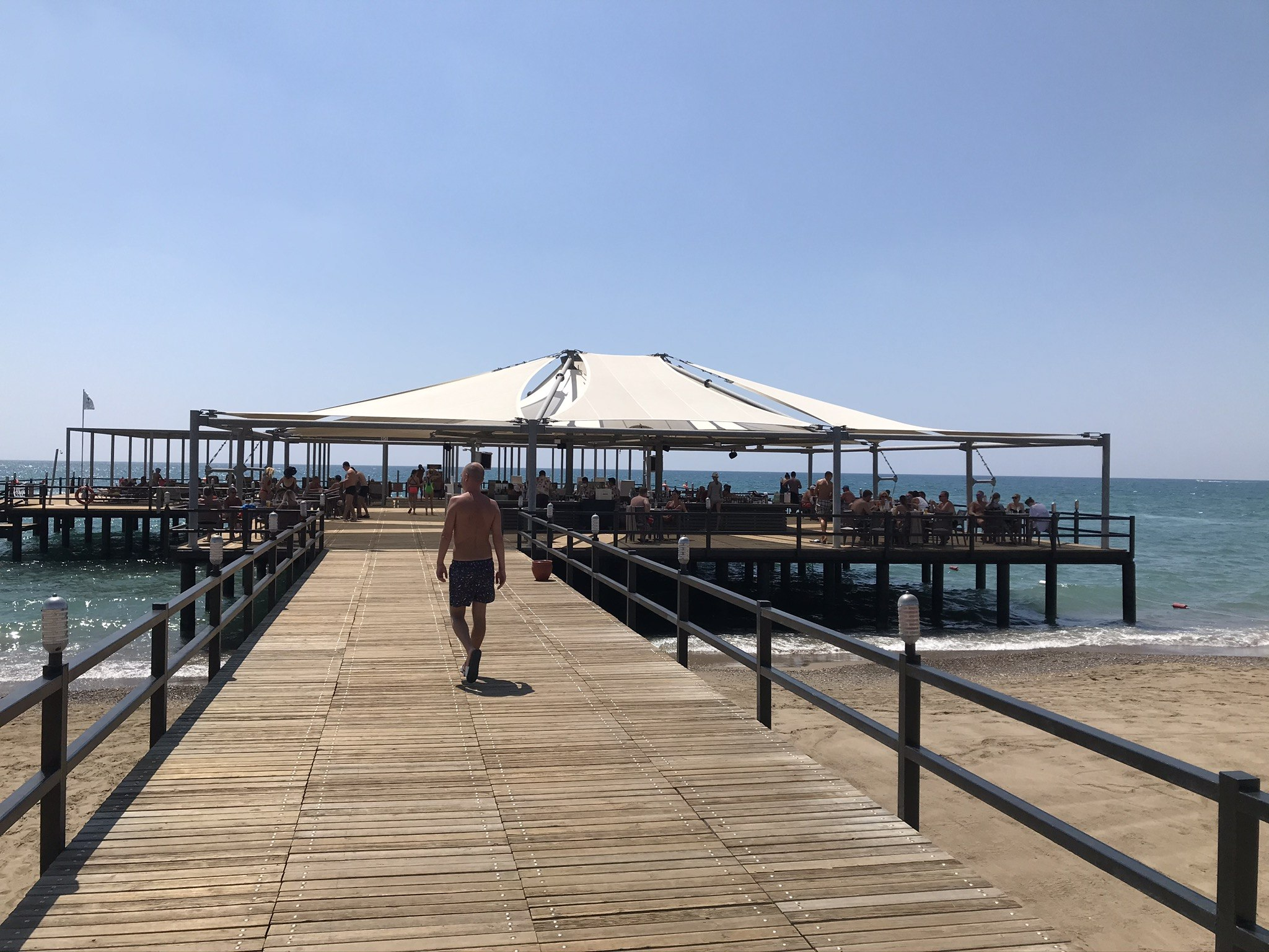Restaurants and Bars by the sea - Belek, Turkey
