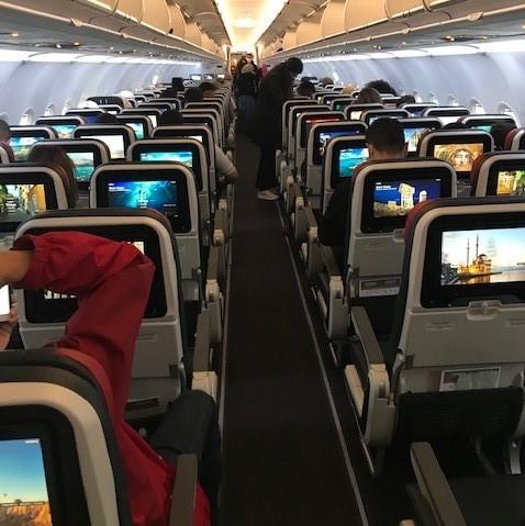 Socially distanced boarding