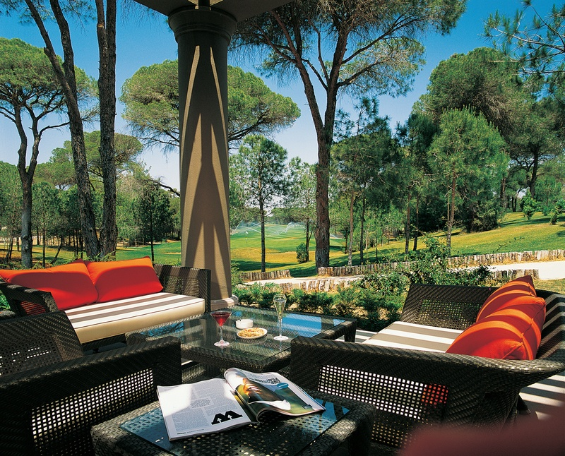 Cornelia Golf Club refreshments - Belek Golf Holidays