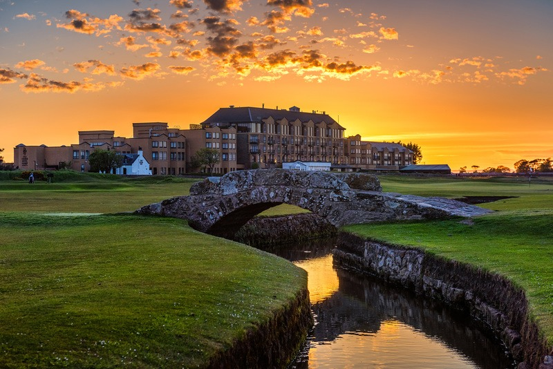 The Old Course Hotel, St Andrews, Scotland
